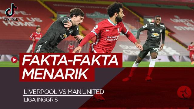 Berita video TikTok Bola.com, fakta-fakta menarik usai Liverpool bermain 0-0 lawan Manchester United, Minggu (17/1/21)
