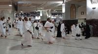 Jemaah haji Indonesia mulai diberangkatkan menuju Arafah untuk melaksanakan wukuf pada Jumat (9/8/2019) ini. Bahauddin/MCH