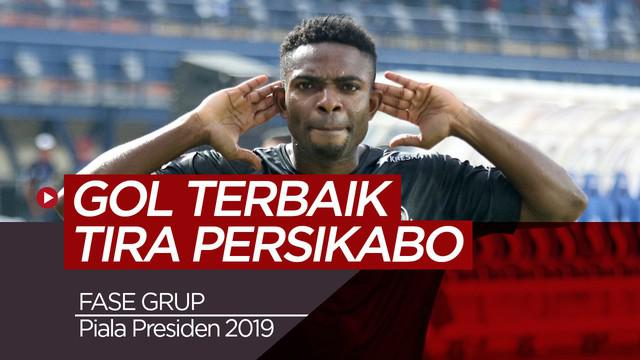 Berita video 3 gol terbaik Tira Persikabo pada fase grup Piala Presiden 2019.