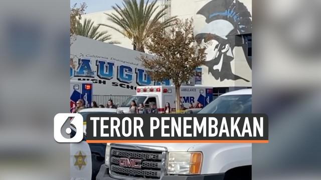 Peristiwa penembakan di sekolah kembali terjadi di sekolah menengah atas di California Amerika Serikat. 2 murid tewas dalam aksi teror ini.