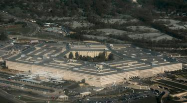 Ilustrasi Pentagon, markas kementerian pertahanan AS (AFP/Saul Loeb)