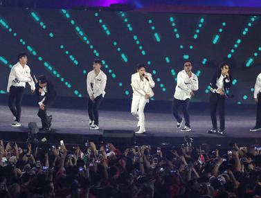 Super Junior Guncang Panggung Penutupan Asian Games 2018