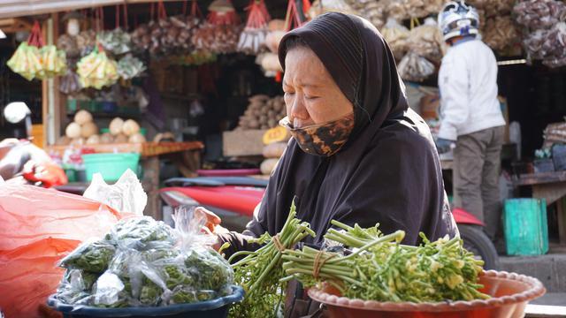 pedagang sayur
