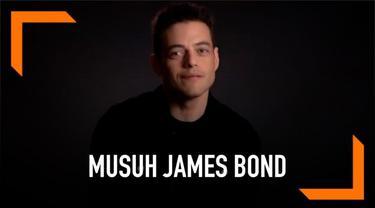 Rami Malek dipercaya menjadi musuh James Bond di film terbaru. Bond 25 akan menjadi film terakhir bagi Daniel Craig dalam memerankan karater agen rahasia Inggris 007.