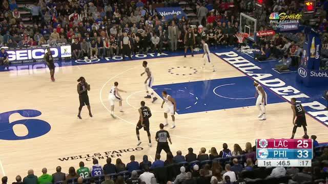 Berita video game recap NBA 2017-2018 antara Philadelphia 76ers melawan LA Clippers dengan skor 112-98.