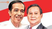 banner Jokowi-Prabowo (Liputan6.com/Triyasni)
