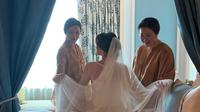 Adinda Bakrie menikah. (dok. Insta Story @adindabakrie/https://www.instagram.com/adindabakrie/Dinny Mutiah)