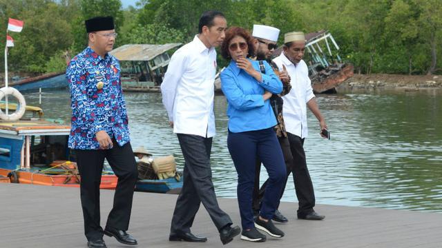 Foto Jokowi Ingin Kampung Nelayan di Bengkulu Jadi Contoh Wilayah Lain