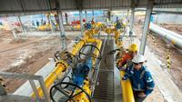 embangunan pipa gas bumi Muara Karang-  Muara Bekasi ibertujuan meningkatkan pemanfaatan atau penggunaan gas bumi nasional,