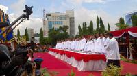 Pelantikan 17 pasangan kepala daerah di Jawa Tengah (Liputan6.com/ Edhie Prayitno Ige)