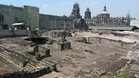 Terkuak 'Kamar Rahasia' dalam Kuil Aztec (AFP)