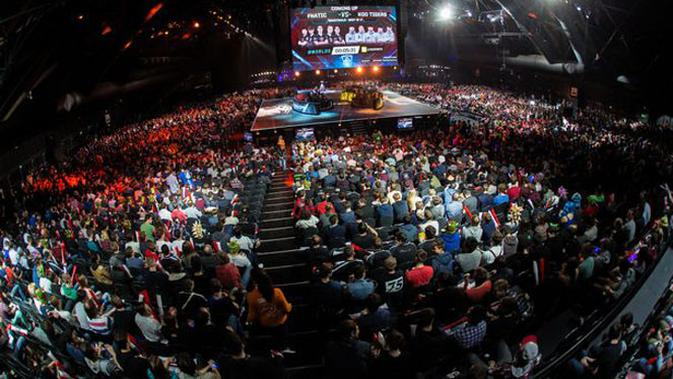 Turnamen eSports. (Doc: AFP)
