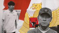 Pelatih Timnas Indonesia Shin Tae-yong. (Bola.com/Dody Iryawan)