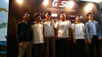RRQ, tim eSports yang wakili Indonesia di ajang GESC Indonesia Dota 2 Pro Circuit Minor. Liputan6.com/ Yuslianson