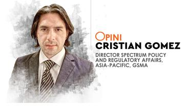 Cristian Gomez, Director Spectrum Policy and Regulatory Affairs, Asia-Pacific, GSMA