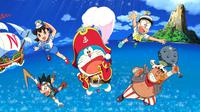 Doraemon the Movie: Nobita's Treasure Island. (TOHO)