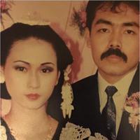 Foto pernikahan Inul Daratista dan Adam Suseno (via Instagram/inul.d)