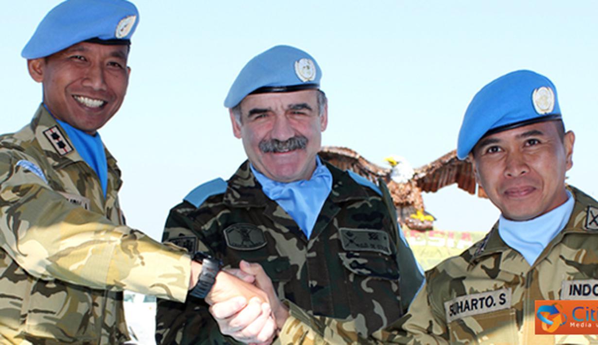 Citizen6, Lebanon: Otoritas Kendali Operasional Satgas Batalyon Mekanis Konga XXIII-E kepada XXIII-F dengan tugas dan tanggung jawab sesuai area of responsibility di Lebanon Selatan, luas wilayah lebih kurang 175,2 km². (Pengirim: Badarudin Bakri)