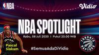 Seri NBA Spotlight edisi Pascal Siakam dan Toronto Raptors. (Sumber: Vidio)