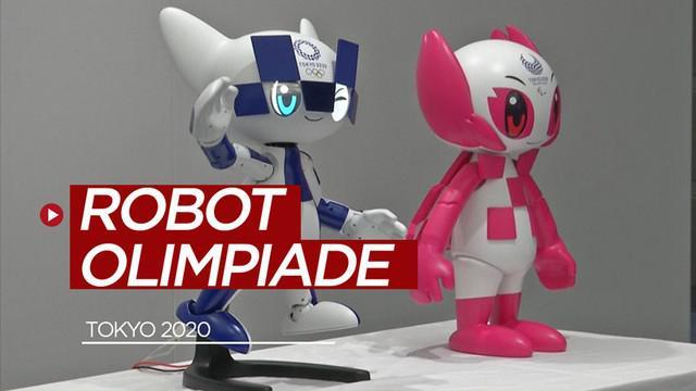 Berita video Tokyo telah mempersiapkan robot-robot untuk membantu pengunjung di Olimpiade 2020.