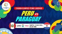 PERU VS PARAGUAY (liputan6.com/Abdillah)