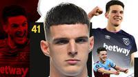 West Ham United - Declan Rice (Bola.com/Adreanus Titus)