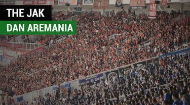 Berita video momen persahabatan supoerter Persija Jakarta, The Jakmania, dan suporter Arema FC, Aremania, di Stadion Utama Gelora Bung Karno, Senayan, Jakarta, Sabtu (31/3/2018).