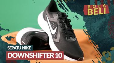 Berita video Bola Beli kali ini mengulas kelebihan yang dimiliki dari sepatu running Nike Downshifter 10.