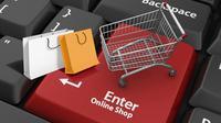 lustrasi Online Shop.