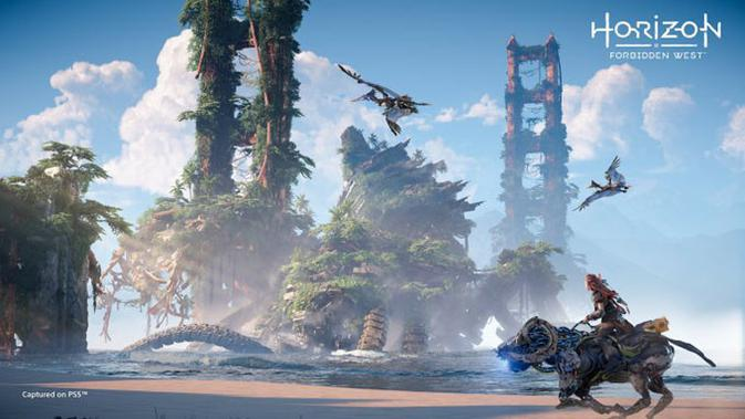Horizon Forbidden West. (Doc: Sony)