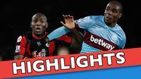 Video highlights Bournemouth melawan West Ham yang berakhir dengan skor 1-3, pada lanjutan Premier League pekan ke-21.