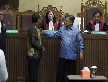Wapres Jusuf Kalla Bersaksi di Sidang Jero Wacik
