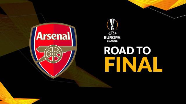 Berita video perjalanan Arsenal di Liga Europa dari babak penyisihan hingga semifinal.