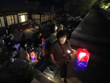 FOTO: Menyusuri Istana Changdeokgung Seoul di Tengah Pandemi COVID-19
