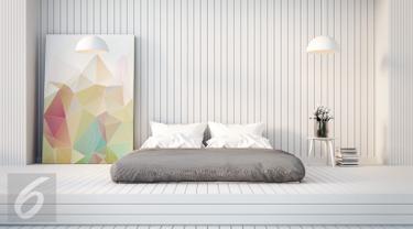 ilustrasi foto stylish bed room/ kamar tidur (iStockphoto)