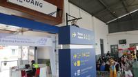 Stasiun kereta api di Kota Padang. (Liputan6.com/ Humas KAI)