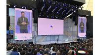 CEO Google Sundar Pichai di Google I/O (Foto: The Verge)