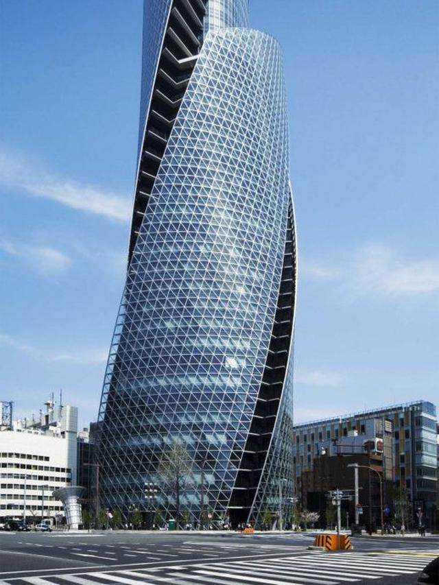6 Desain Bangunan Bentuk Spiral Paling Unik di Dunia