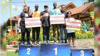Para pemenang Chocolate Glenmore Run 2019.