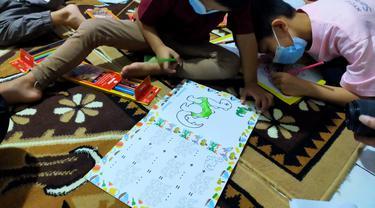 KT&G SangSang berbuka puasa dengan anak yatim piatu di bulan Ramadhan (ist)
