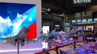 Produsen pesawat dunia pamer produk terbaik di Singapore Air Show