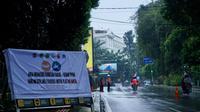 Kawasan ganjil genap di Kota Bogor, Jawa Barat. (Liputan6.com/Achmad Sudarno)