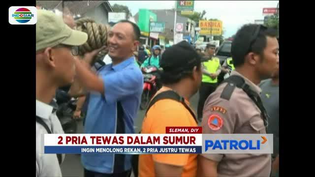 Jasad kedua korban yang dievakuasi dari dalam sumur kemudian dibawa ke Rumah Sakit Bhayangkara Yogyakarta.
