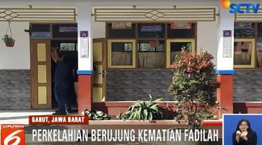 Fadilah, Minggu lalu tewas ditangan MH dengan luka di kepala dan punggung.