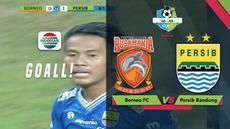 Penyerang sayap Persib Bandung, Ghozali Siregar mencetak gol semata wayang saat menghadapi Borneo FC dan membawa Maung Bandung berada di puncak klasemen sementara Gojek Liga 1 2018 bersama Bukalapak.