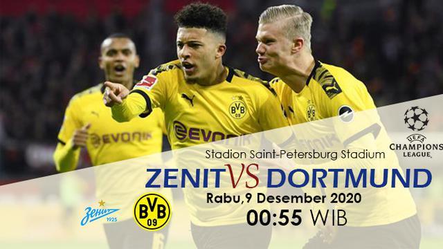 Prediksi Zenit vs Dortmund