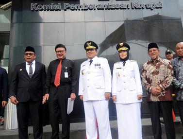Usai Dilantik, 3 Pasang Gubernur-Wagub Kunjungi KPK