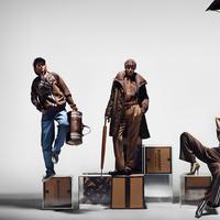 Sejumlah karakter diperankan oleh Gigi Hadid dalam kampanye terbaru Burberry. (Foto: Burberry)
