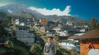 Butuh Kaliangkrik, desa wisata di kaki Gunung Sumbing, Magelang, yang disebut Nepal van Java. (dok. Instagram @jongki.wp/https://www.instagram.com/p/CETCUSasfvh/)