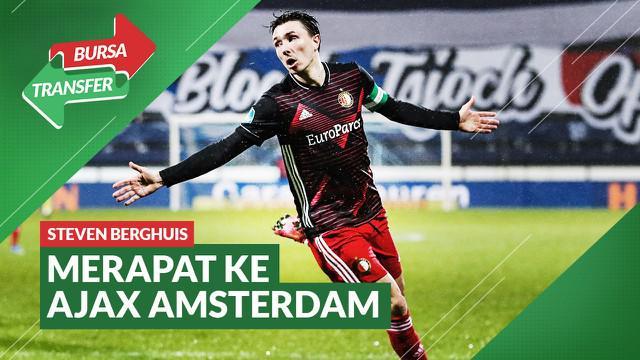 Berita Video Rumor Kepindahan Pemain Feyenoord, Steven Berghuis yang Merapat ke Ajax Amsterdam